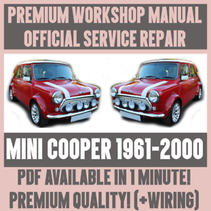 WORKSHOP-MANUAL-SERVICE-amp-REPAIR-GUIDE-for-MINI-COOPER-1961-2000-WIRING
