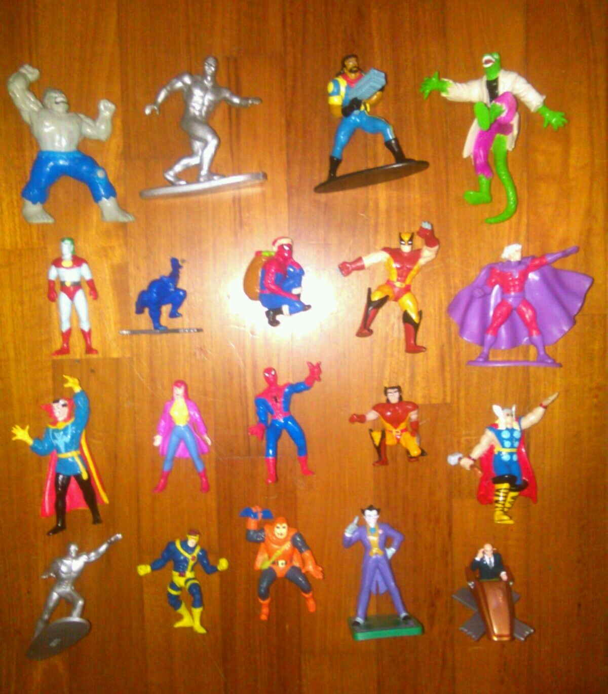 Lot AVENGERS pvc figure figurine MARVEL x-men batman spiderman dc comics thor +