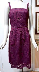 NWT-200-White-House-Black-Market-Sleeveless-Lace-Fit-amp-Flare-Dress-Gypsy