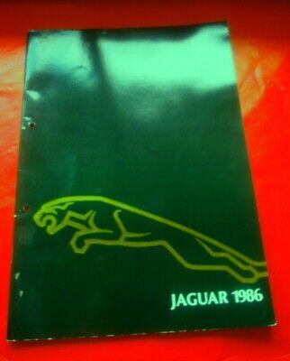 Jaguar Prospekt 1986 Xj6xj12 In Deutsch