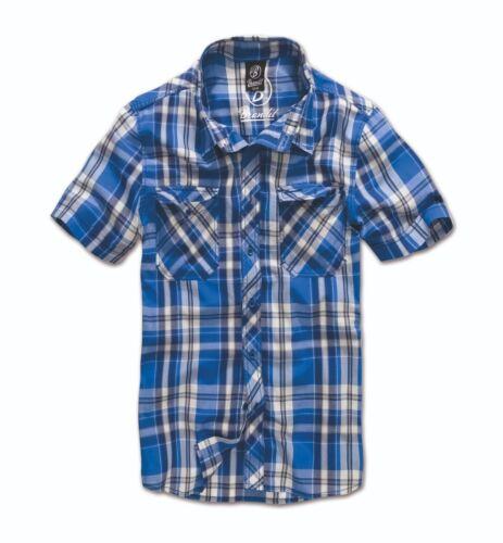 Brandit Men/'s Shirt short Sleeves Checked Roadstar 1//2 Lumberjack to 5xl 4012