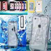 WATERPROOF DIRTPROOF SHOCKPROOF CASE FOR APPLE iPhone 4/4S 5 5C S RETAIL PACKAGE