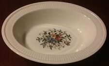 Wedgwood China Oval Vegetable Bowl Conway England