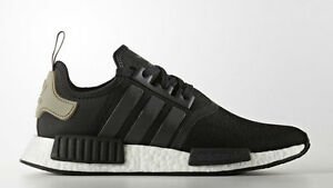 d6781e9cf221f Adidas Originals NMD R1 Runner Core Black Cargo Trail BA7251 Men Sz ...