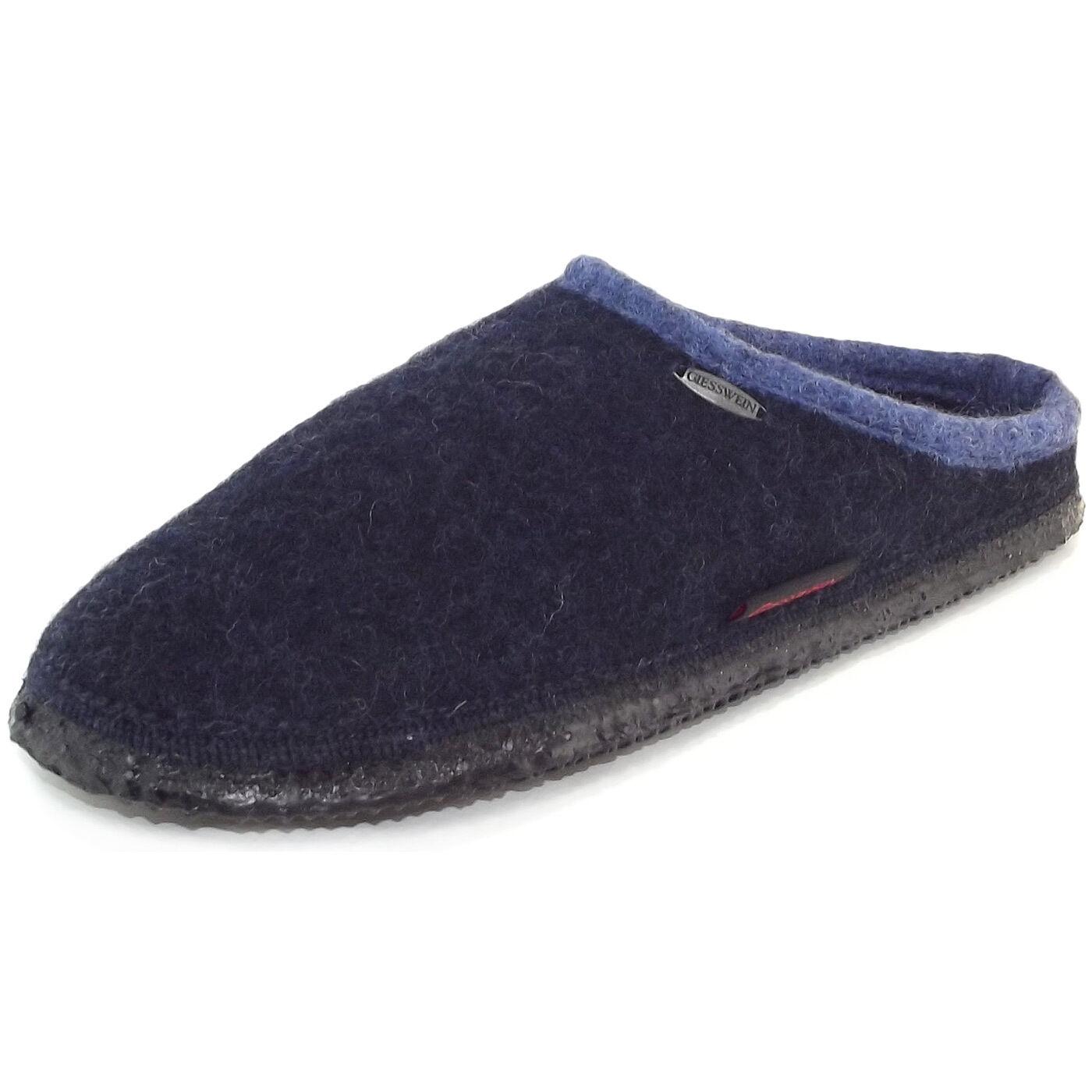 Billig hohe Pantoffeln Qualität Giesswein Dannheim Unisex Pantoffeln hohe nachtblau 58ee6b