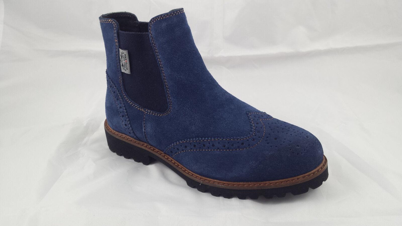 OTTO NAVY KERN 80657 STIEFELETTE Chelsea Stiefel NAVY OTTO Blau Gr 37 NEU bcb5a3