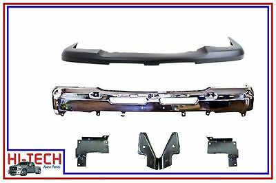 NEW 03 04 05 06 07 CHEVY SILVERADO 1500 CHROME FRONT BUMPER COMBO 15287617