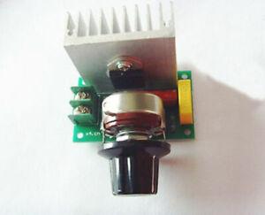 AC 0-220V 3800W SCR Voltage Regulator Speed Steuern Dimming Dimmers Thermostat
