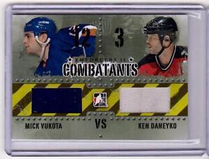 MICK-VUKOTA-VS-KEN-DANEYKO-13-14-ITG-Enforcers-2-II-Combatants-Jersey-C-36