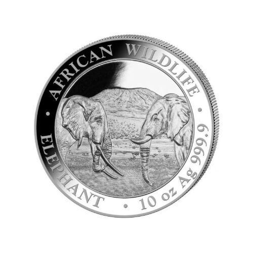 Somalia 1 000 shillings silver 10 ounces elephant 2020