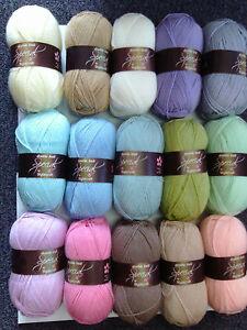 Image is loading 15-100g-Stylecraft-Special-D-K-Wool-Yarn-Knitting- & 15 100g Stylecraft Special D/K Wool/Yarn Knitting/Crochet Cupcake ...