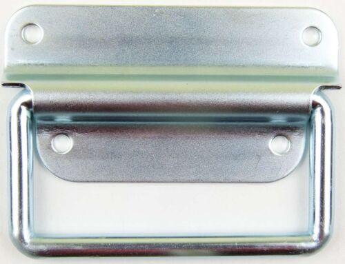 2 Adam Hall 3440 Klappgriffe 103x76 2-teilig Kistengriff Boxengriff Klappgriffe