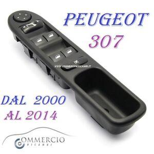 Pulsantiera-Alzacristalli-Peugeot-307-307cc-307sw-6554-KT-NUOVA-dal-2000-al-2014