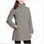 Women/'s Kirkland Signature Waterproof Wind Resistant Hooded Rain TRENCH COAT NWT