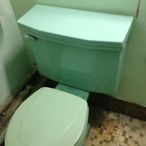 Vintage Sea Foam Green American Standard Toilet Tank Amp Lid
