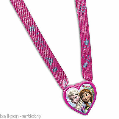 12 Disney's FROZEN Snow Queen Birthday Party Favours Gifts Loot Charm Necklaces