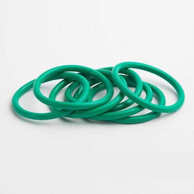 Ø2.2mm OD=8~22 High Temp Green Fluorine Rubber O-Ring Gasket Oil Sealing Washer