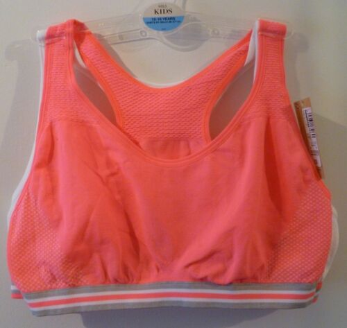 Marks /& Spencer Girls Pack of 2 Seam Free Crop Tops Age 12-14