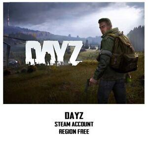 DAYZ-New-Steam-account