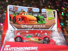 "DISNEY PIXAR CARS ""RIP CLUTCHGONESKI"" Scale1:55, Die-Cast Metal, NEW, Mattel"