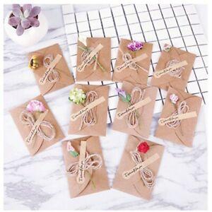 10-5X7-1cm-Sticker-Supply-Office-School-Flower-Gift-Card-Kraft-Paper-Envelope
