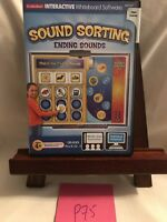 Sound Sorting Ending Sounds Lakeshore Interactive Whiteboard Software P75