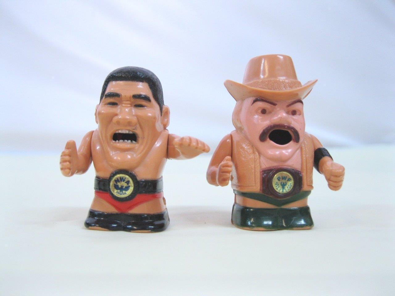Stan Hansen et GIANT baba vintage toy figure Japan FPG Ceinture AJPW NJPW Wcw Wwf