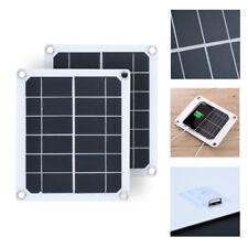1Pc  chargeur usb puissance 5v panneau solaire camping randonnée portatif