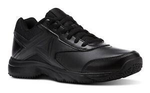 733f6f7bd076 Reebok Work N Cushion 3.0 Black Oil Resistant Mens Walking Shoes ...