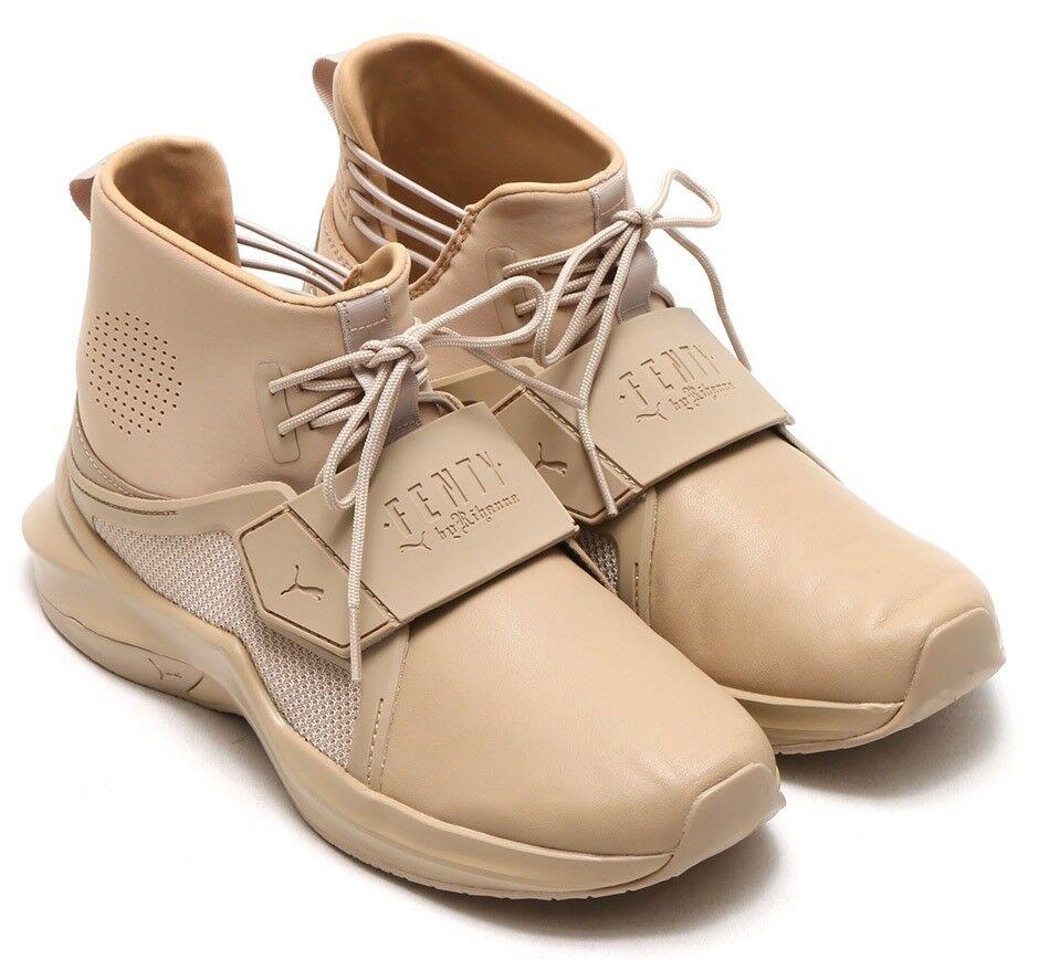 250 Authentic Rare FENTY PUMA RIHANNA Unisex Strap Trainer Hi Sneaker Sz.10 U.S