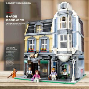 Bausteine-Blick-Stadtstrasse-Buchhandlung-Kinder-Spielzeug-Bausaetze-QL-0925-OVP