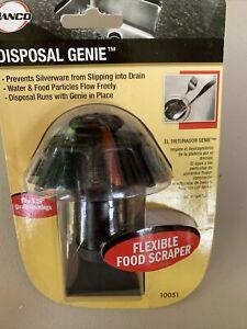 DANCO Disposal Genie Universal Garbage Disposal Strainer in Black