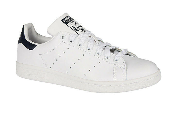 Adidas Stan Smith White Black Men's shoes M20325 Adult Sneakers M20325