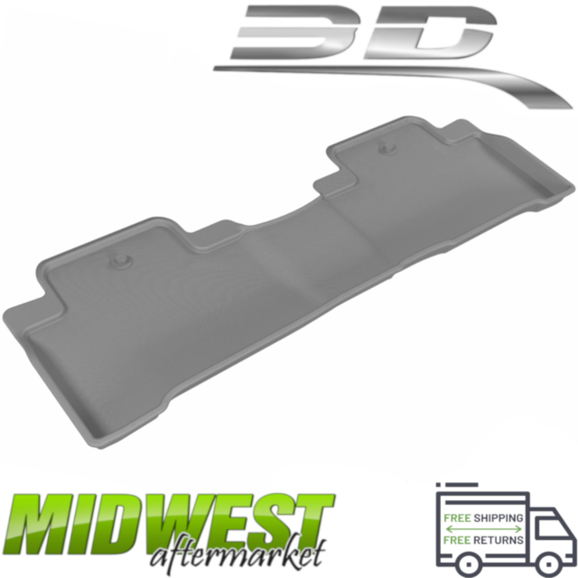 3D MAXpider Kagu All Weather Gray 2nd Seat Floor Liners