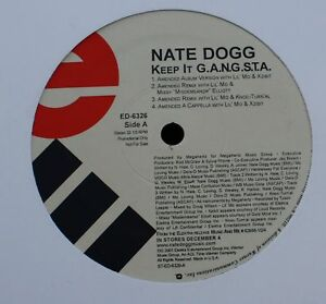 3-NATE-DOGG-Vinyl-12-034-EP-PROMO-RAP-Keep-it-GANGSTA-Woman-been-sighted-Get-Up