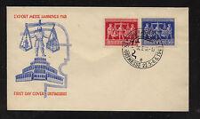 Germany 584-85  on  cachet  cover      KL0906