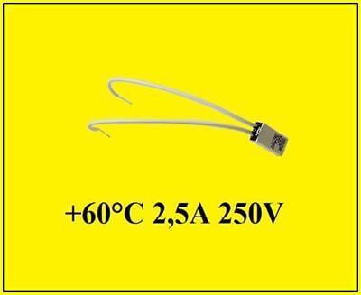 Limitor Thermosicherung Temperatursicherung rückstellend 60°C 2,5A 250V 1 Stück