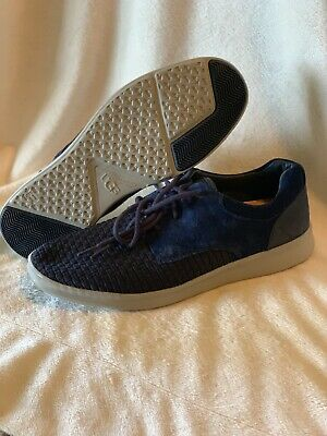 01025eb496e UGG Hepner Woven Men's Sneakers Casual Dress Shoes Royal Blue Size 11 New  $130 | eBay