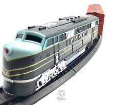 Train Set Coast to Coast Railway 1 Locomotive Engine 1 Rail Car 16 Tracks New