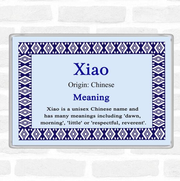 2019 Ultimo Disegno Nome Xiao Significato Jumbo Frigo Calamita Blu Processi Di Tintura Meticolosi