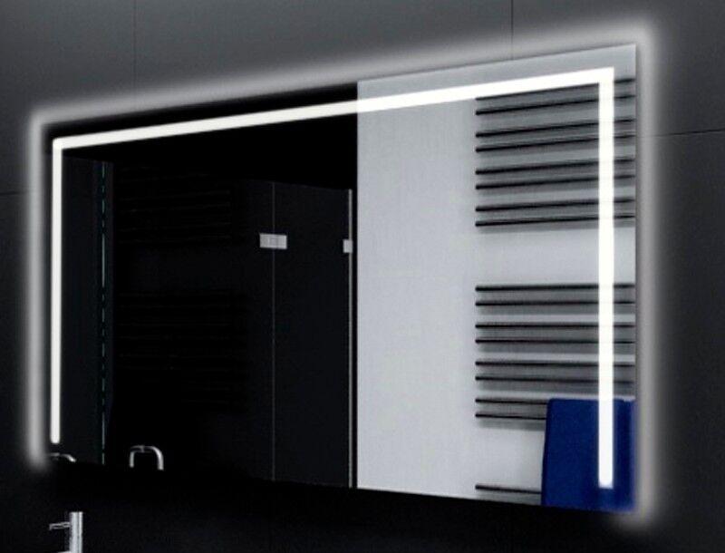 Badspiegel mit LED Beleuchtung Badezimmerspiegel Bad Spiegel Wandspiegel M110