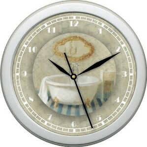 Image Is Loading Bath Time 4 Personalized Wall Clock Bathroom Decor