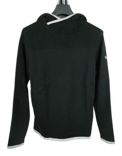 BOSS GREEN Kapuzen-Pullover MIFE in L Regular Fit schwarz