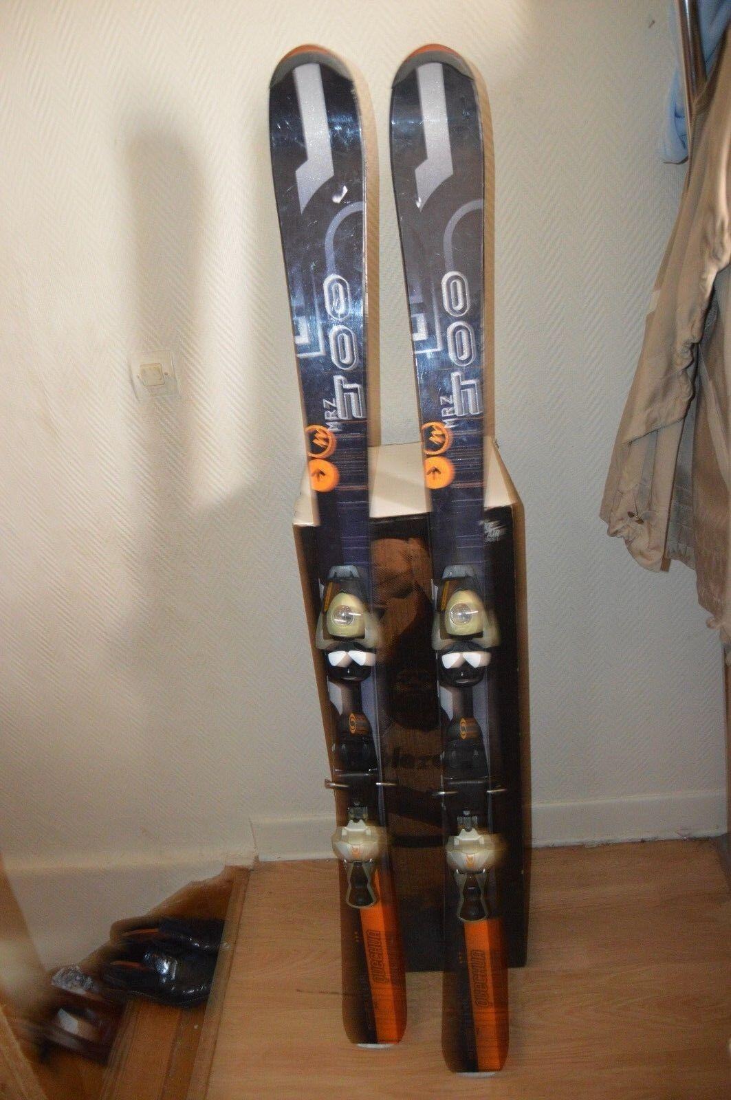 Esquí Quechua MZR 600 Tamaño 150cm + Fijación Salomon S 740 Ski   Esqui Be