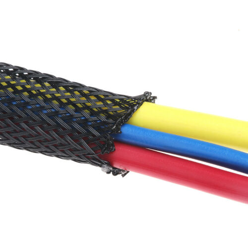 MURE 10m QUALITY EXPANDABLE BRAIDED SLEEVING LOOM HARNESS PROTECTOR 25mm EBS-25