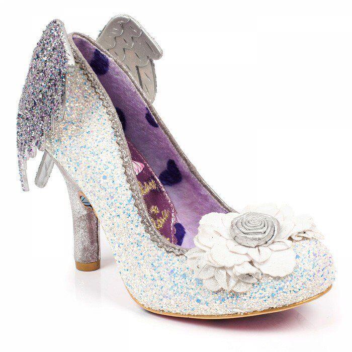Irregular Choice Icarus weiß High Heels Schuhe NEU