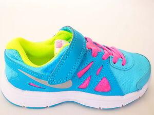 Details zu Nike Revolution Kinder Schuhe JungenMädchen SneakerTurnschuhe Große;27 31.5