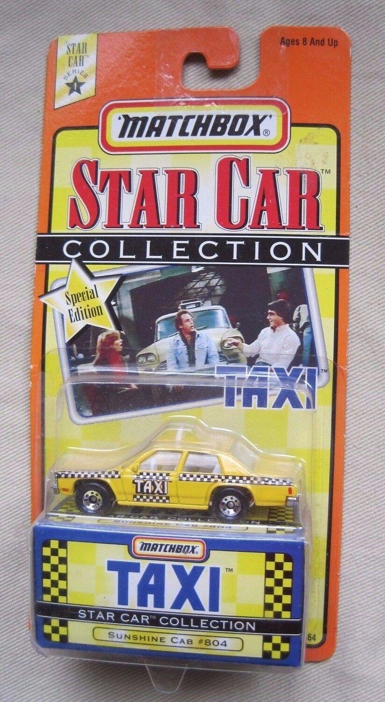 1997 Matchbox Estrella Coche Colección Taxi Programa de Tv Sunshine  804 Serie 1