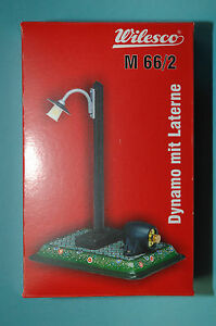 Wilesco-00662-DINAMO-CON-LAMPADA-M66-2-dampfmaschienen-Accessorio-NUOVO