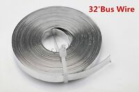 32feet 5mm Bus Wire Solder Covered Soldering Connect Solar Cells to Solar Panel